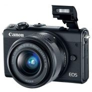NEW Canon EOS M100 with 15-45mm Lens +16GB +Bag