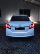 Smokey tail light led toyota vios