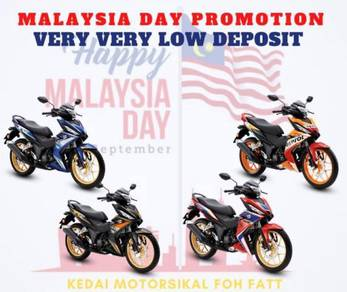 VERY low deposit promotion for malaysia day rs150