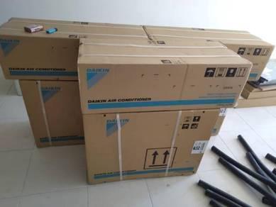 Aircond Baru 1.0hp daikin air cond new 1hp bb07
