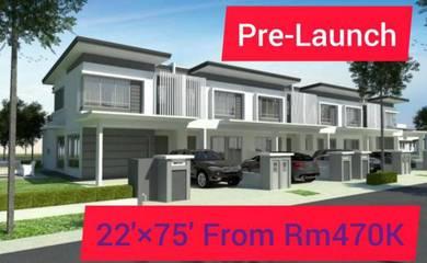 New Launch 22'x75' Double Storey BTP Rawang 15Mins To AEON Mall