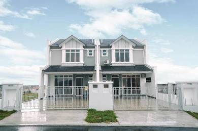 New Launch Freehold wide carporch high ceiling & Near Setia Alam