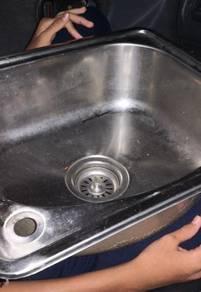 Single sinki murah untuk dilepaskan