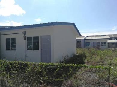 Affordable Single Storey Terrace Corner at Moyan