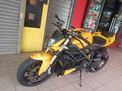 Ducati streetfighter 848 with low mileage