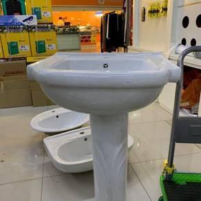Ceramic basin & stand
