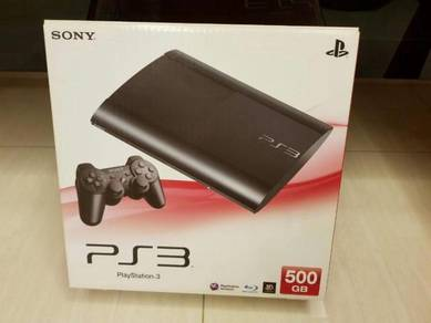 New ps3 with free games cd