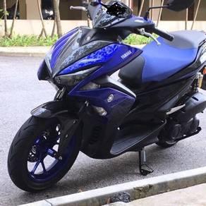 2019 Yamaha NVX modified 68mm