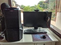 Fullset PC Desktop + Accessories