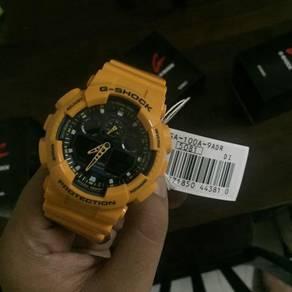 G Shock GA100A-9 (Bumblebee)