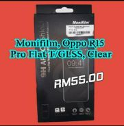 New Original Quality t/glass clear Oppo r15 pro