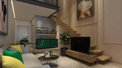FULLY Furnish, Edusentral Condo Setia Alam, Studio Freehold, MCO Deal