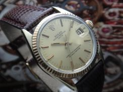 R135) rolex vintage 1550 oyster perpetual date men
