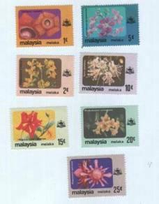 Mint Stamp Flower Definitive Melaka Malaysia 1979