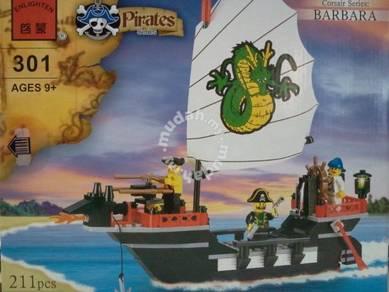 Bricks - Enlighten 301 Santa Barbara Ship Pirate