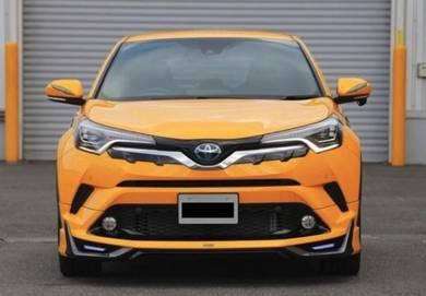 Toyota C-HR CHR Modellista skirting bodykit