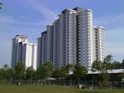 Best view,renovated unit Horizon residence (Penthouse) in Bukit indah