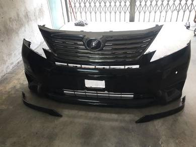Toyota Vellfire Z original front bumper and grille