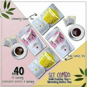 Slimming Detox Tea & Kaki Cantiq Tea