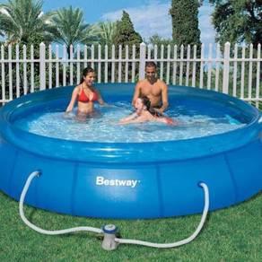 Fast Set 3 Meter Round Pool with Free Pump