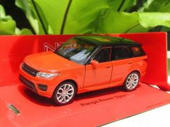 Welly 1/34 Diecast Range Rover Sport (Orange)
