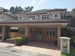 Double Storey House Perdana Lakeview East FULLY FURNISHED Cyberjaya
