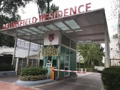 BRUNSFIELD RESIDENCE U THANT Triplex PENTHOUSE PARTIALLY FURNISH KLCC