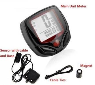 Waterproof Digital Speedometer Bicycle Stopwatch