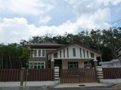 House rent bungalow terrace house cheng taman krubong perdana melaka