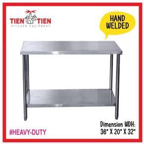 Stainless Steel 2 Tier Worktable (Welding)