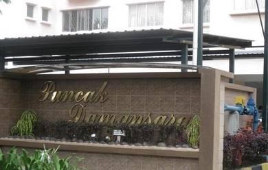Puncak Damansara Condo 964sf PJU 6 Petaling Jaya (RENOVATED, SemiFur)