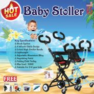 New Baby Stroller 4Wheels Fordable & Portable SUV