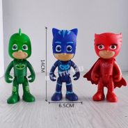 High Quality Pjmasks Hero Big PVC Figure with ligh