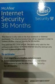 [Quick Sale] McAfee Internet Security OEM