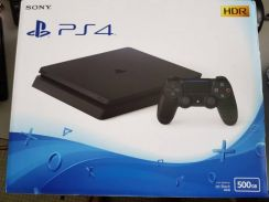 New ps4 slim 500gb HDR +FIFA18/PES2018/CONTROL