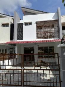 Pulai Indah double storey terrace house for rent