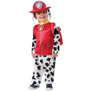 Paw Patrol Fire Fighter Marshall Costume 2-6y