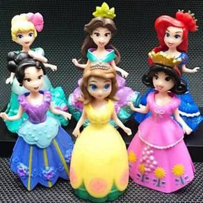 Q Series 6 Princesss PVC Figure Cake Topper 10cm