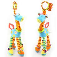Happy Monkey Giraffe Stuffed Toys Plush Doll