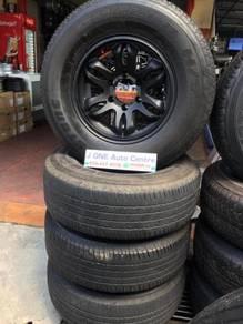 USED JRD WHEELS 16inc & tire ranger triton hilux