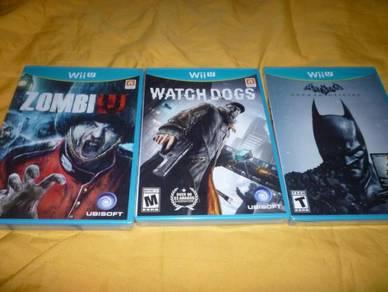 Nintendo Wii U Games NTSC -60 e.a.ch