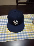 MLB New York Yankees Fitted Hat 7 1/4 On-Field Cap