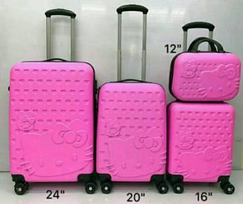 Hello Kitty Luggage 4 1n 1