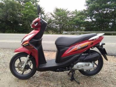 Honda Spacy cantik mileage rendah