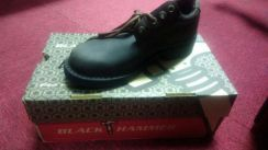 Safety shoes black hammer uk8, uk9