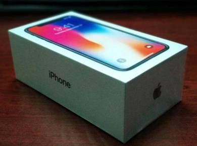 Baru iPhone X 64GB. Harga (1600) jer