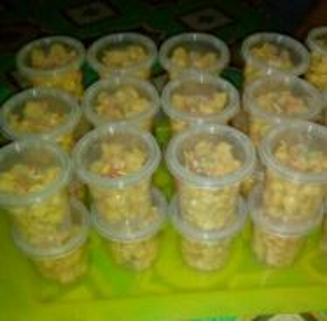 Biskut Cornflakes Madu Door Gift