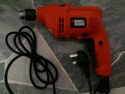 Almost New Black Decker Power Drill