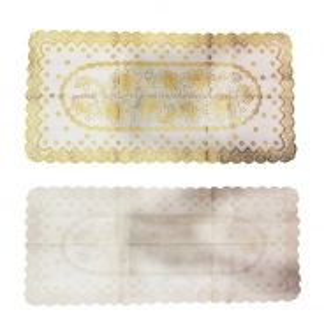 Plastic Hollow Tablecloth Gilding ( 10-114-04 )