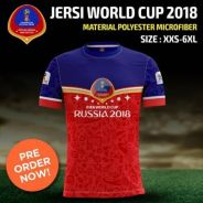 Baju World Cup Russian Limited Edition